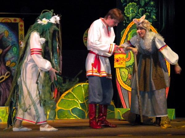 спектакль по сказке пушкина праздник